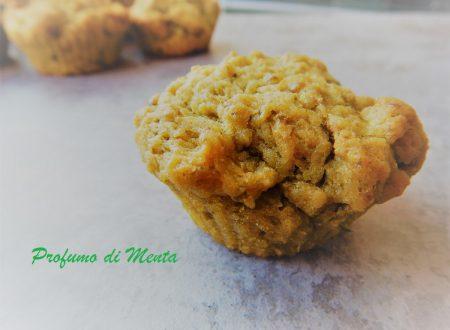 Muffin al pesto senza uova