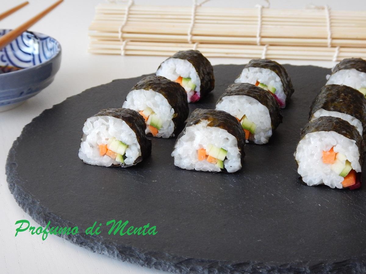 sushi vegtariano