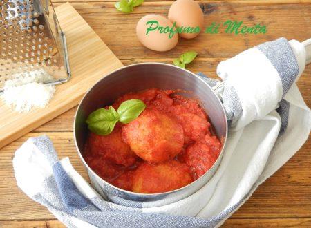 Pallotte cacio e uova: polpette di formaggio e uova