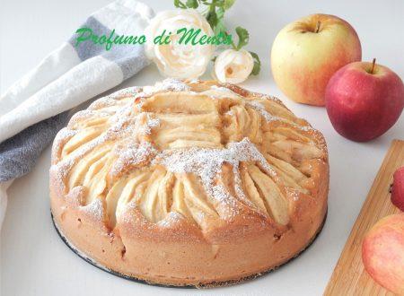Torta di mele senza burro con zenzero e cannella