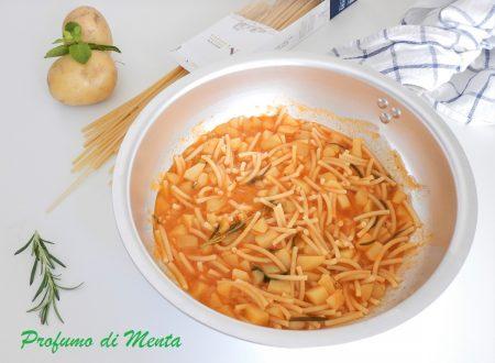 Pasta e patate: la ricetta di Nonna Maria